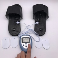 Health Care Electric Digital Tens Therapy Massage Slimming Body Breast Massager Pulse Muscle Toner Pain Relief