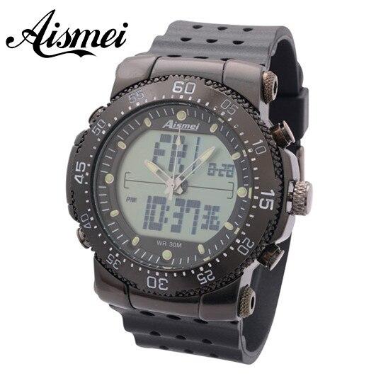 Новые тактические цифровой Военные Часы Цифровой Сигнальный СВЕТОДИОД Армия известная Марка логотип Кварцевые часы мода Спорт Наручные Часы