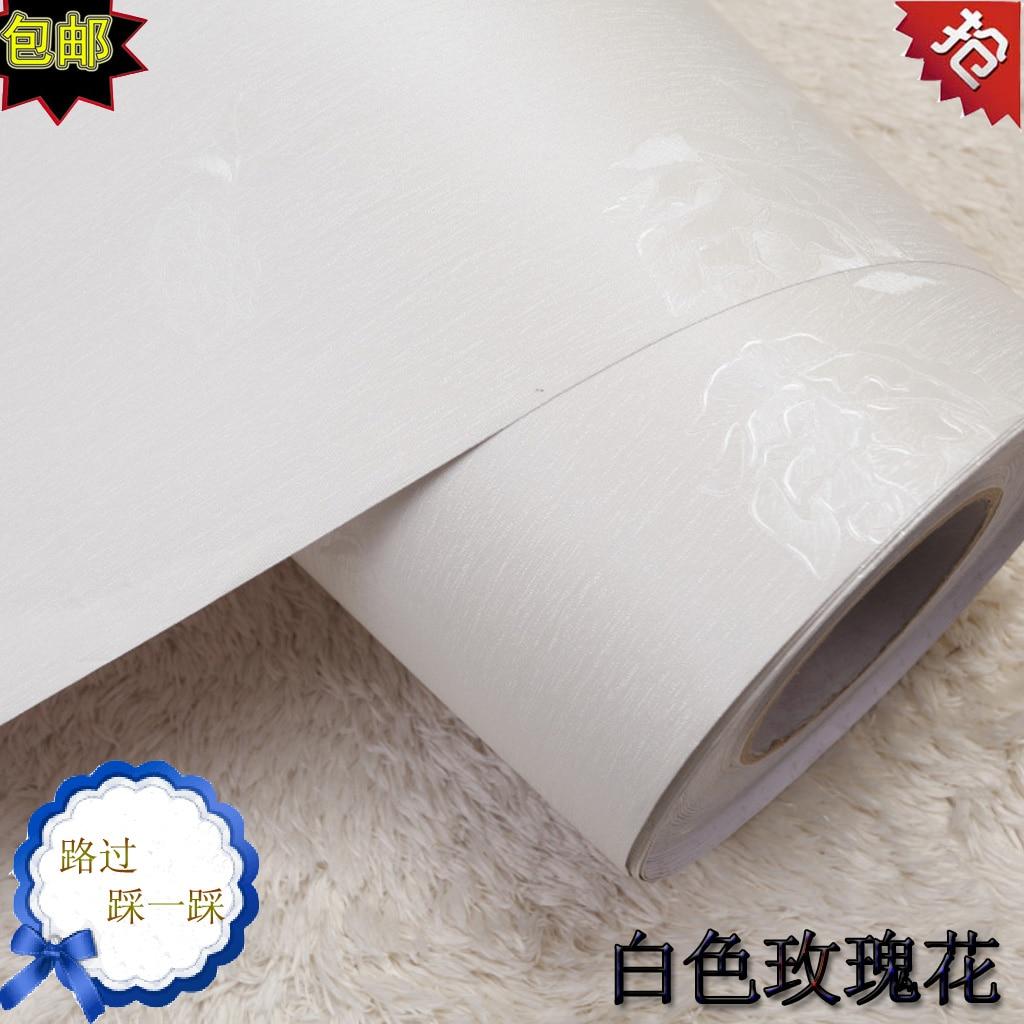 Online kopen wholesale wit rose behang uit china wit rose behang ...