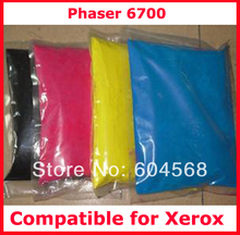 High quality color toner powder compatible for Xerox Phaser/6700/C6700/6700 Free Shipping