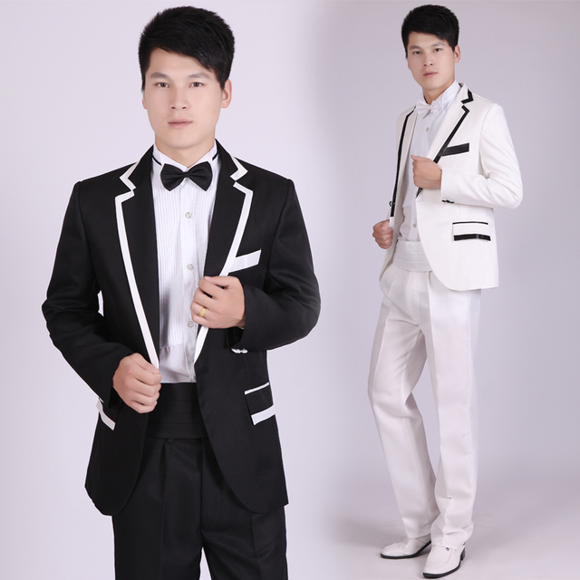 4 pic Men's Dresses Men's Gowns Groom Hosting Costumes Photo Studio Troupe Choir Wedding Theme