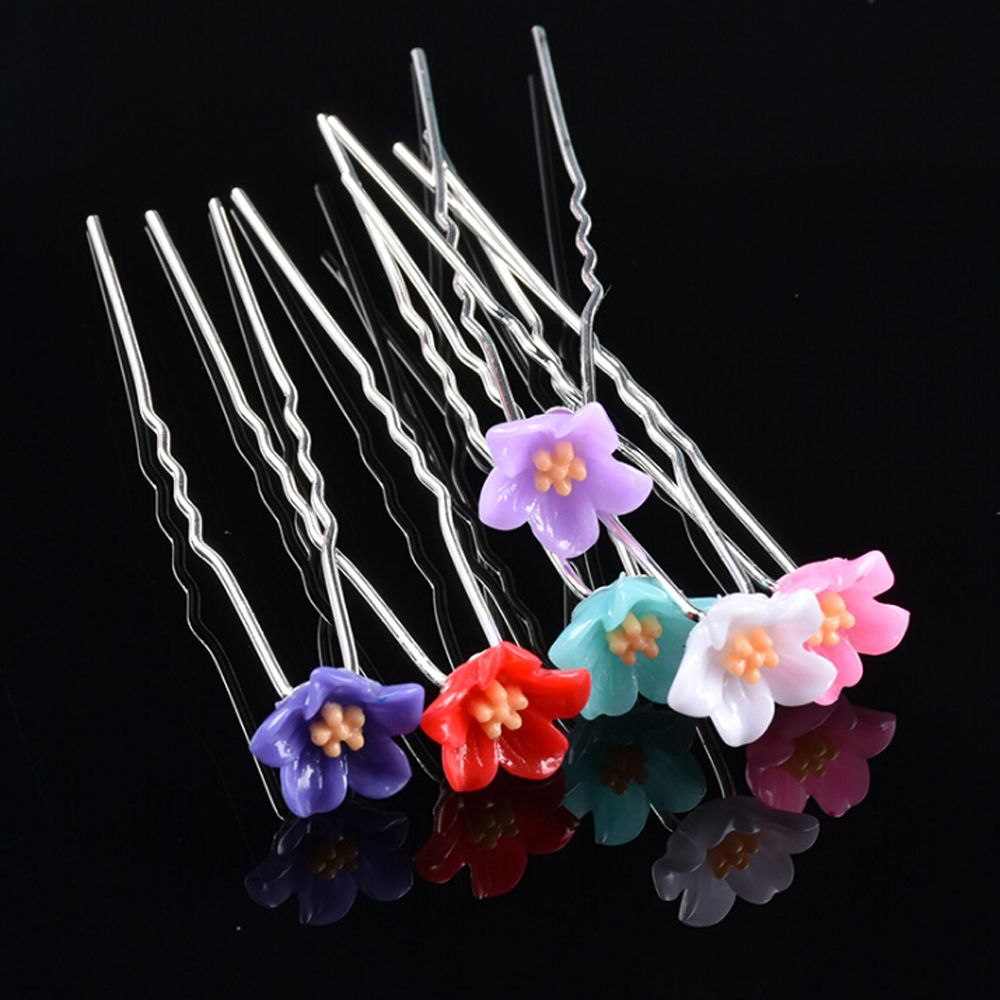 Apparel Accessories M Mism 20pcs/set Korea Fashion Women Girl Flower Crystal Hair Clips Hairpin Hair Style Tool Wedding Bride Party Hair Accessories