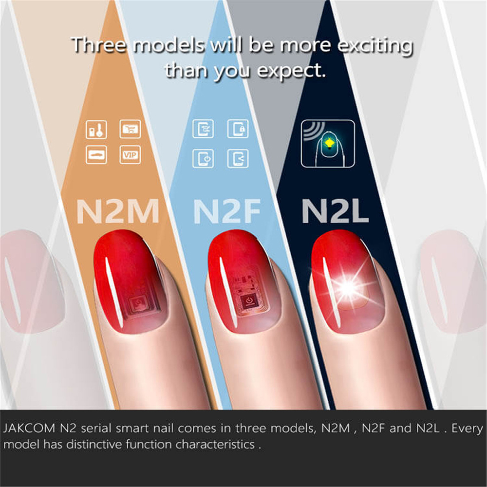 JAKCOM N2 Smart Nail New Multi-function Electronics Intelligent ...