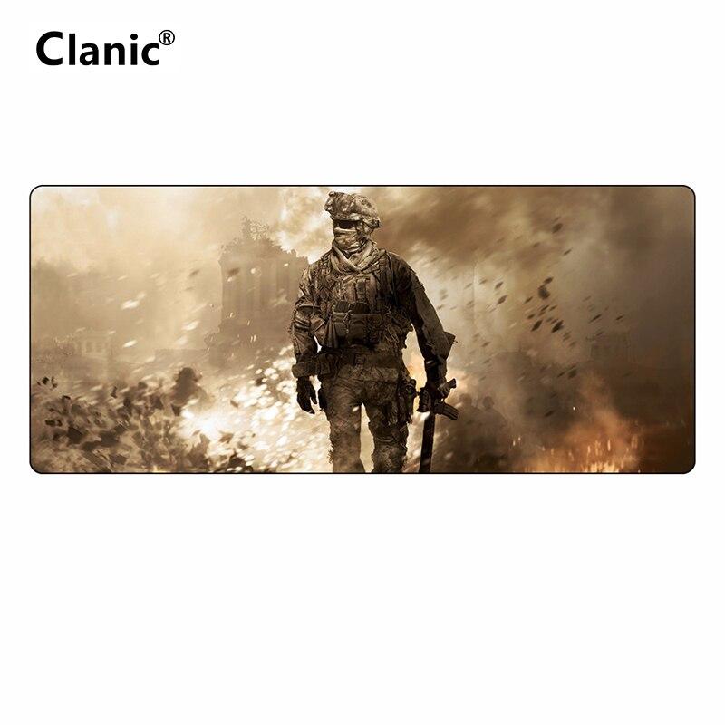 700*300 grande gaming mouse pad para Call of Duty COD Velocidade versão do jogo mousepad gamer L XL preto bloqueio