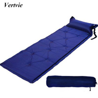 1 Person Thick 2 5CM Outdoor Camping Mat Automatic Seif Inflatable Mattress Beach Mat Camouflage Cushion