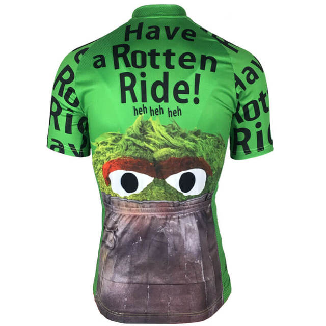 2017 Hot Men Cycling Jersey Team MTB Road Bicycle Clothing Bike Wear Clothes Ropa Ciclismo Cartoon Short Sleeve Maillot Ciclismo
