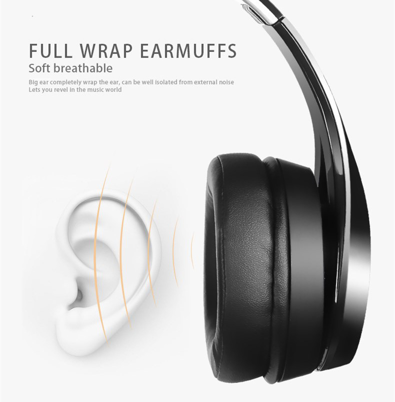 XIBERIA Brand Headset NUBWO Bluetooth 4.1 Wireless Headphones Stereo Foldable Headset with Microphone HD Sound for iPhone Xiaomi