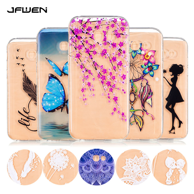 Jfwen for samsung galaxy a5 2017 case silicone cute for Housse samsung a5 2017