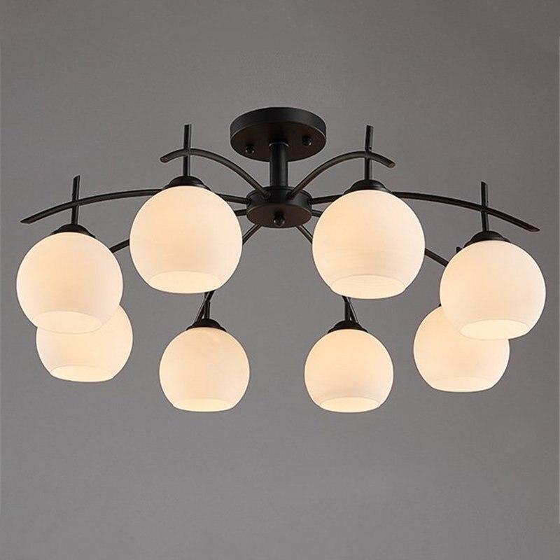 Modern retro Nordic atmosphere living room lamp American style simple ceiling lamp home bedroom lamp modern dining room lamp