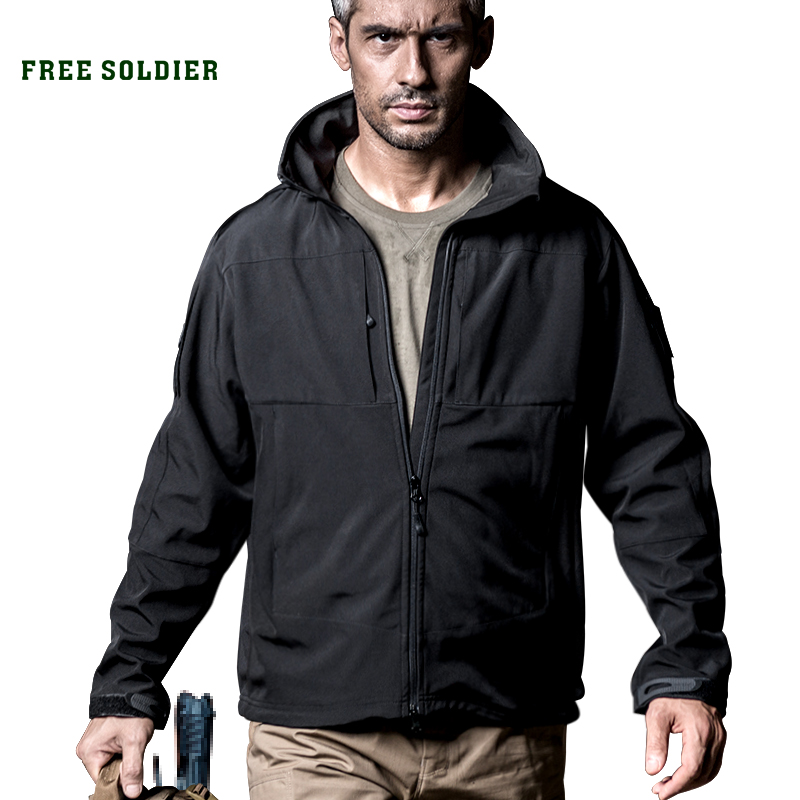 Coat 2-Piece-Set Free-Soldier Windproof Clothing Lining Tactical-Jackets Water-Instant