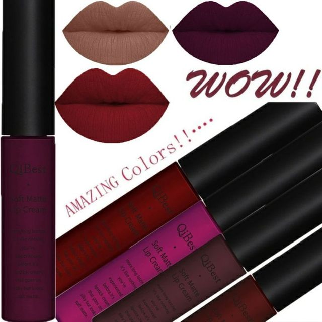 Liquid Lipstick Matte 2Pcs/Set