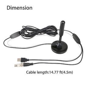 Image 4 - Dlenp Indoor Digital HDTV TV Antenna Aerial Amplified 200 Mile Range VHF UHF Freeview R15