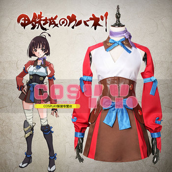 Kabaneri of the Iron Fortress Mumei Cosplay Costume Custom Made Free Shipping A