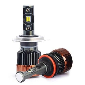 car headlight H4 led canbus H7 H11 fog light hb3 hb4 kit auto H8 H9 led H1 H3  EMC Car LED Headlight Bulbs Hi-Lo Beam 70W 5700K