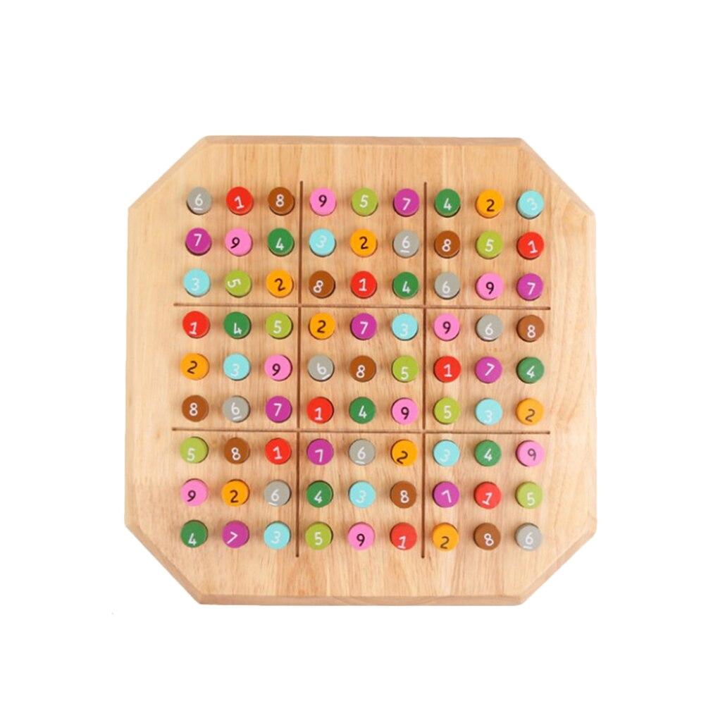 1 pc Sudoku logique formation éducatif intellectuel Table jouet jeu de société damier Puzzle pour enfants enfants