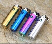 USB Vlamloze Aansteker Elektronische Oplaadbare WilndProof Turbo Aansteker Voor Roken