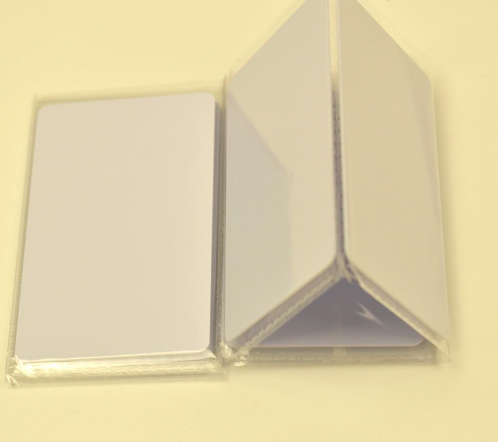 5pcs/lot 125khz Inkjet Printable PVC ID card EM 4100/EM4100 chip Epson R200 R210 R220 R230  R300 R310 R320 R350 200pcs lot premium blank white pvc inkjet printable card no chip double side printing for all inkjet printers