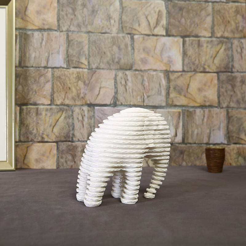 Elephant Figurines (8)