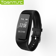 TORNTISC S1 smart wristband watch bracelet fitness tracker heart rate monitor Pedometer with bluetooth 4.0 for Android and IOS
