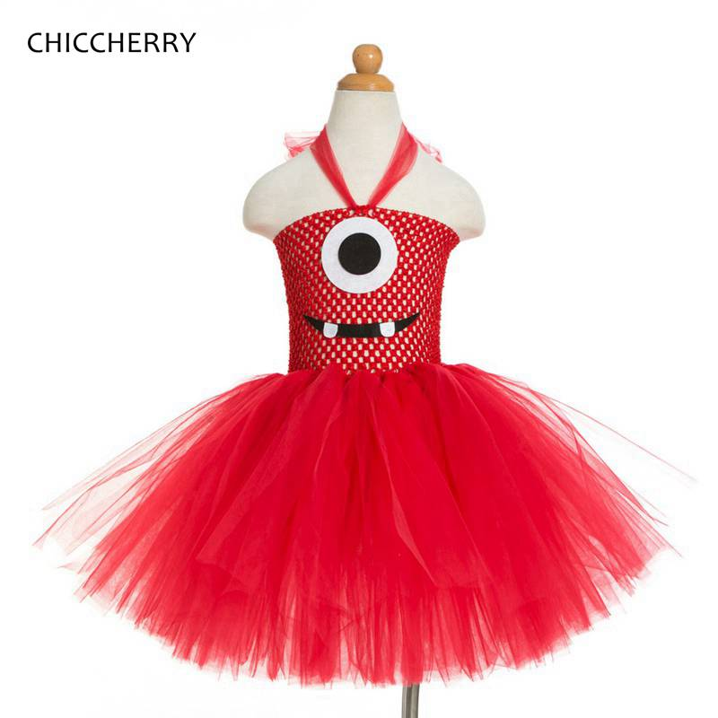 Red Summer Girl Clothes Despicable Me Kids Party Tutu Dress Children Lace Dresses Vestido Infantil 2-12 Years Birthday Outfits girl dress summer style elsa hooded cloak party princess tutu vestido infantil dresses kids dresses for girls children s clothes