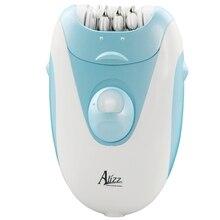 Проводной роторный женский эпилятор электрический женский эпилятор удаление волос для лица депиляция губ Леди подбородок бикини триммер эпиляция щек