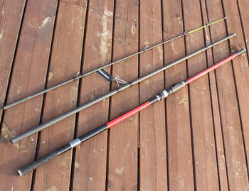 Japan Quality Distance Throwing Rod Surf Rod 4.2M 46T high-carbon 3 Sections 100-200G Surf casting rods GAN057