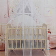 1 PC A-Level Hot Selling Baby Bed Mosquito Net Mesh Dome Curtain Net for Toddler Crib Cot Canopy(China)