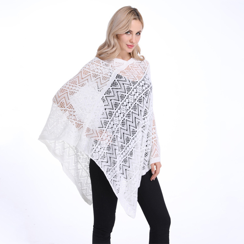 Buy white poncho and get free shipping on AliExpress.com