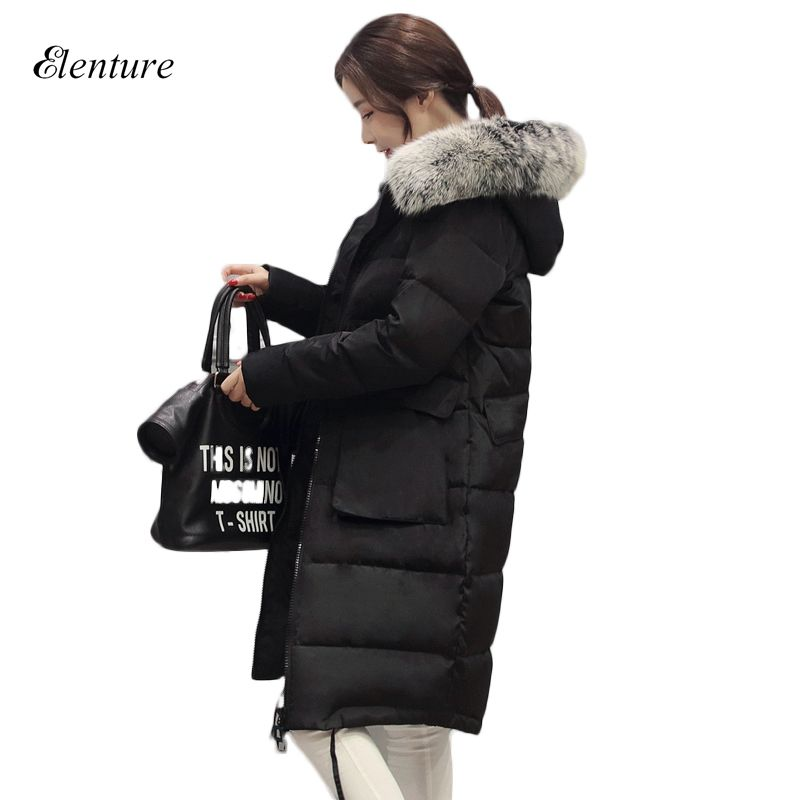 Fashion Korean Style Womens Winter Jackets And Coat Down Parkas Womens Hooded Wadded Plus Size 4xl