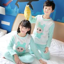 Conjuntos de Pijama de inverno para meninas Crianças Baymax Macio Velo Pijamas de Flanela Pijamas crianças Homewear Loungewear Quente Coral Fleece QM