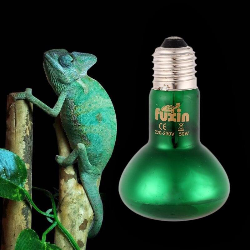 25/50/75/100 Watt 220 V Pet Heizung Lampe Amphibien Reptilien Sonnenlichter Streifen Licht Tier Reptil Grübler Wärme Nacht Emitter Heizung