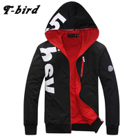 T Bird 2017 New Fashion Hoodies Brand Men Printing Sweatshirt Male Hoody Hip Hop Autumn Winter