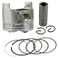 Motorcycle Engine Parts STD Cylinder Bore Size 49mm Pistons & Rings Kit For Suzuki GSF250 BANDIT 250 ACROSS 913 Piston