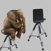 Tattoo Studio Equipment 1PCS Black Tattoo Chair Arm Tripod Rest Bracket Leg Stand Full Adjustable Armrest Kit