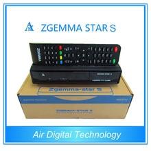 20 unids/lote mejores ventas en Aliexpress Original Zgemma estrella S con una DVB-S2 Enigma2 Linux receptor de satélite os