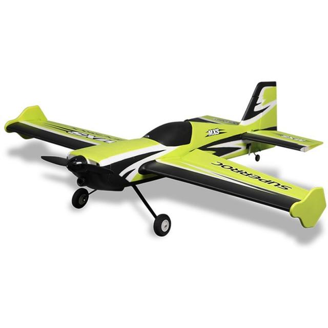 Fms Rc Vliegtuig 1100 Mm 1.1M Mxs V2 Groen 4CH Pnp Duurzaam Epo Aerobatic 3D Schaal Radio Control Model vliegtuig Vliegtuigen 100% Originele