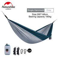 Naturehike 1 2 Person Ultralight Single Double Hammock Outdoor Camping Leisure Hanging Tent Portable Hanging