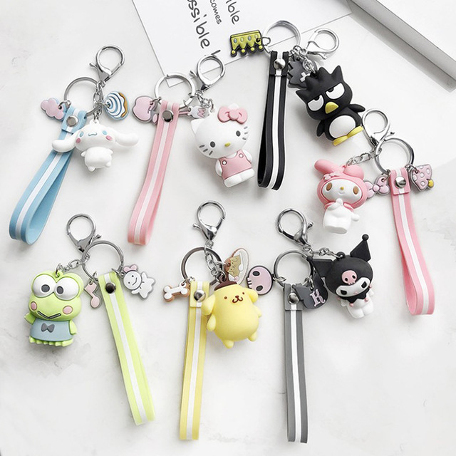 US $0 91 45% OFF|High Quality 2019 New Little Cute Yellow DUCK Key Chain  Dancing duck keychain pendant bag accessory DIY Car Key Chains Wholesale-in