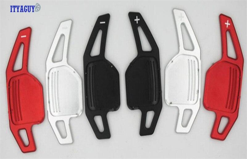 Hohe Qualität Aluminium Lenkrad Schaltwippen Für Audi A3 A4 A4L A5 A6 A7 A8 Q3 Q5 Q7 TT s3 R8 freies verschiffen