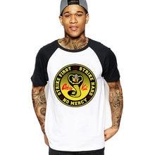 b9ac21b1d2d Vestido Vintage verano 2018 Cobra Kai T shirt Men Karate T-shirt Cool black  mamba fashion cosplay costume Kobe Bryant Tee tshirt