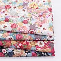 Floral Print Cotton Fabric Home Sewing Tilda Fabrics Patchwork Cotton Tissue Home Textile Woven Telas Tecido
