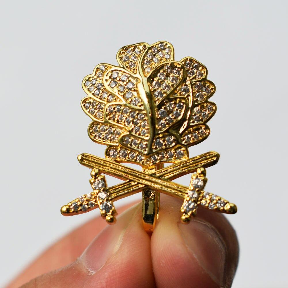 WWII GERMAN WH OAK LEAF SWORDS DIAMONDS KNIGHTS IRON CROSS GOLD-33912