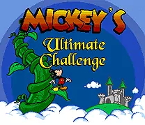 Mickey's Ultimate Challenge - 16 bit MD Games Cartridge For MegaDrive Genesis console