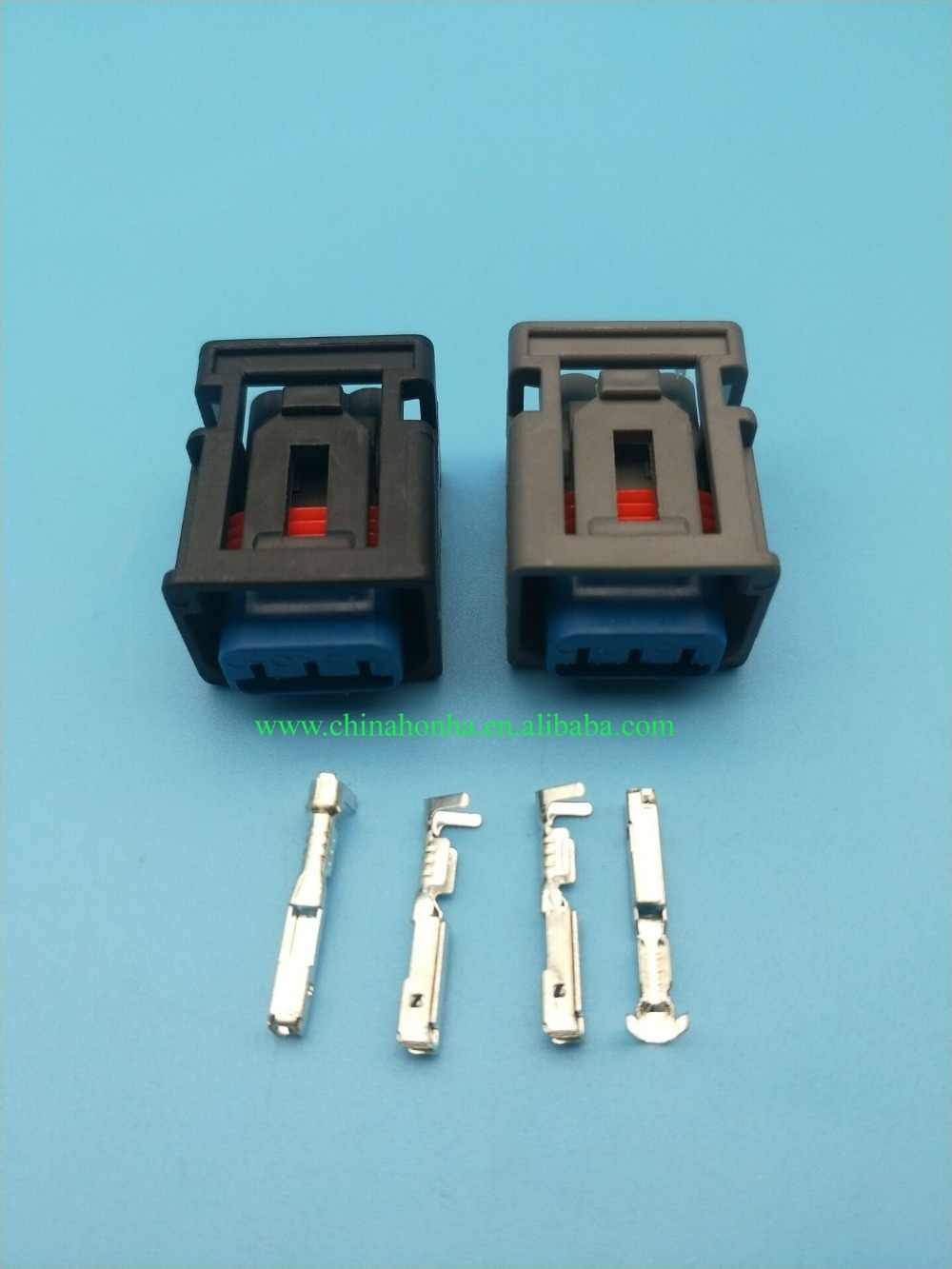 5 pcs 3 Pin/Way Female Ignition Coil Plug Waterproof