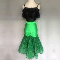 Custom Children's New Latin Dress Children's Latin Dance Dress Adult Latin Performance Wear kids dresses for girls