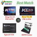 Профессиональный Матч KTAG KESS V2 V2.13 + V2.30 + FG TECH Galletto 4 V54 + BDM КАДР Без Лексем Ограничено Чип ECU Интерфейс
