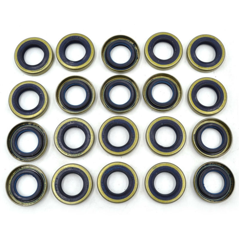 20PCS Crankcase Oil Seal fits Husqvarna 61 66 162 266 268 272 Partner K750 K760 Chainsaw Parts Replaces 503260204 chain sprocket cover assy for chainsaw 61 262 266 268 272 free shipping partner chain brake parts 503 73 66 01