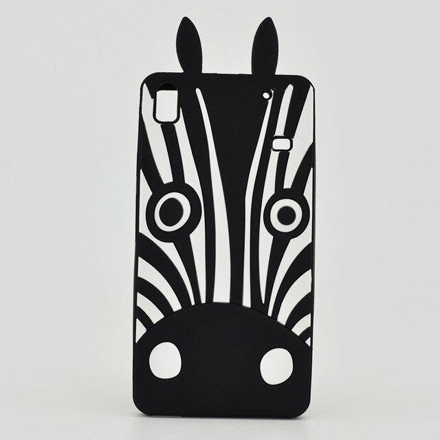 New 3 D Cartoon Zebra Dog Back Cover Soft Case For Note5 J5 2016 S3 I9300 S7 E A8 S8 Plus S5 I8552 J7 2016 G3812 J7 2016 G313 Case by Xinksd