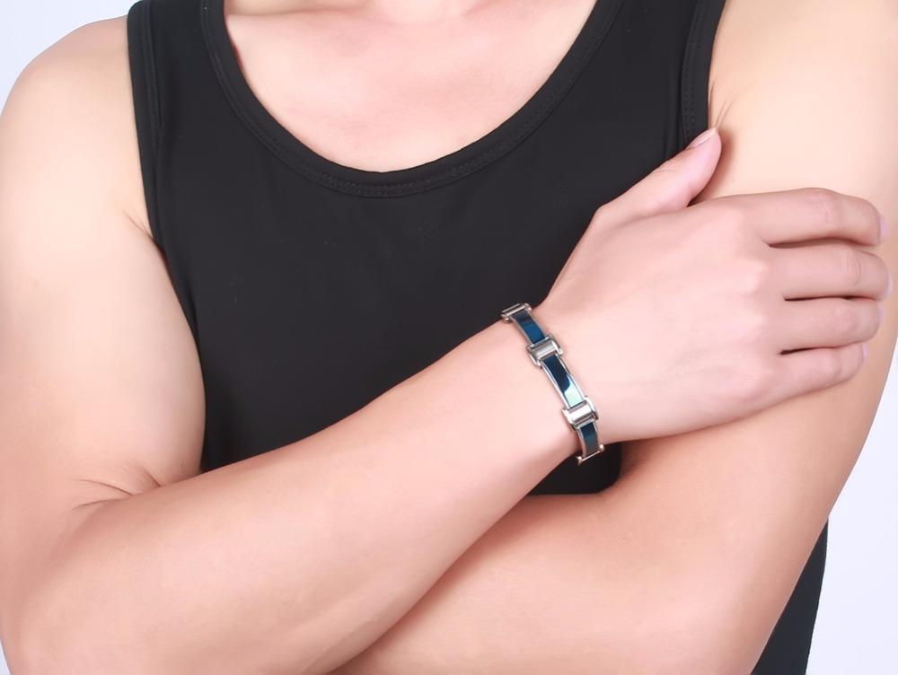 Mens bracelets magnetic Jewelry  11