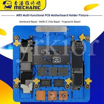 Jyrkior soporte de fijación de PCB placa base Plataforma de mantenimiento de soldadura para iPhone 5/5S/6/6 P/7/7 P/8/XR Reparación de soldadura